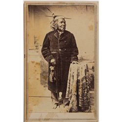 CA - Marysville,Yuba County - c1875 - Photograph of a Maidu Man