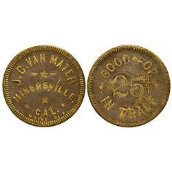 CA - Minersville,Trinity County - JC Van Mater Token