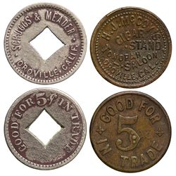 CA - Oroville,Butte County - Oroville Tokens