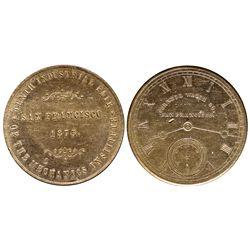 CA - San Francisco,1875 - Cornell Watch Co. Token