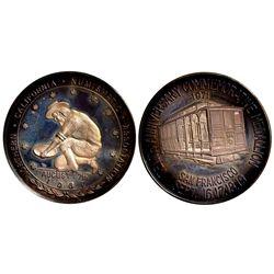 CA - San Francisco,1971 - CSNA Medallion