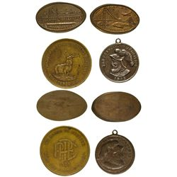 CA - San Francisco,San Francisco County - 1915 - San Francisco Area Expo Tokens