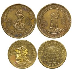 CA - San Francisco,San Francisco County - 1909, 1913 - San Francisco Tokens