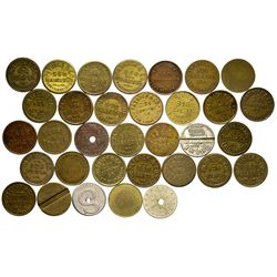 CA - San Francisco County,c1900 - Moise and Patrick & Co Token Collection