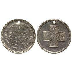 CA - San Luis Obispo,San Luis Obispo County - Sept 21, 1905 - Swiss Souvenir Celebration Token