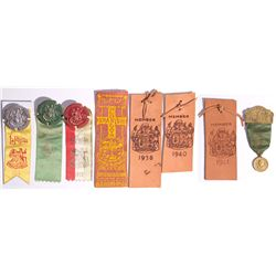 CA - Santa Barbara,Santa Barbara County - 1923 etc - Santa Barbara Commemorative Ribbons