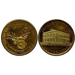 CO - Denver,1906 - Denver Mint B.P.O.E. Token