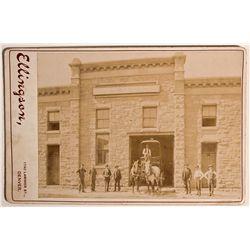 CO - Denver,1900 - Wells Fargo & Company's Express Photograph
