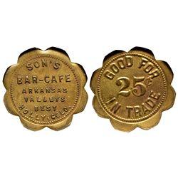 CO - Holly,Prowers County - c1910 - Son's Bar Café