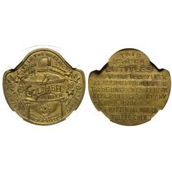 CO - Pueblo,c1908 - Walter Brewing Co. Token
