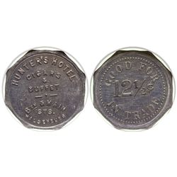 CO - Walsenberg,Huerfano County - c1909 - Hunter's Hotel Token
