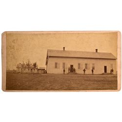Dakota South - Fort Sully,Hughes County - c1880 - Fort Sully Photograph