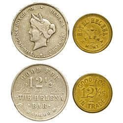 MT - Helena,Lewis and Clark County - Helena Hotel Tokens