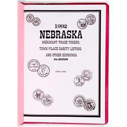 NE - 1992 - Nebraska Token Guide Booklet