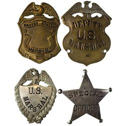 NM - 1930s-1950 - Badges, New Mexico (No Identification)