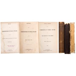 NM - 1858, 1862, 1872 - Indian Affairs, Report of the Commission of (1858, 1862, 1872)
