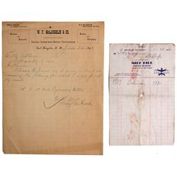 NM - 1898, 1942 - Indian Trading Post Documents