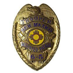 NM - Mounted Patrol, Trooper Badge