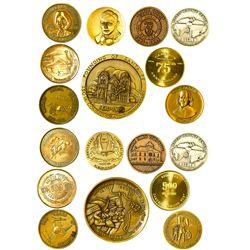 NM - Albuquerque,Bernalillo County - Southwest Commemorative Coins