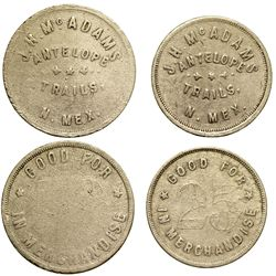 NM - Antelope Trails,McKinley County - Antelope Trails Tokens