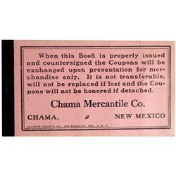 NM - Chama,Chama Mercantile Co. Coupon Book