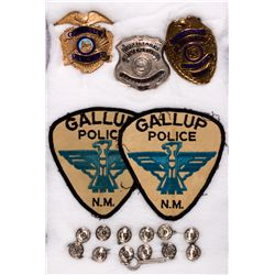 NM - Gallup,Gallup Police Badge Group