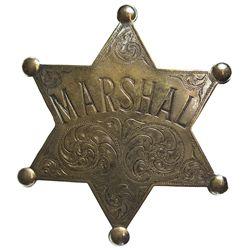 NM - Las Vegas,Marshal Badge