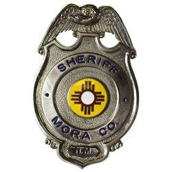 NM - Mora County,1930s-1940s - Sheriff Badge, Mora Co.