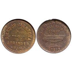 NM - Springer,Colfax County - Amador Montoya Token