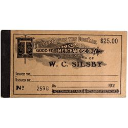 NM - Tyrone,Silby, W.C. Coupon Book