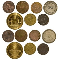 NM - Wingate,McKinley County - Ft. Wingate Tokens