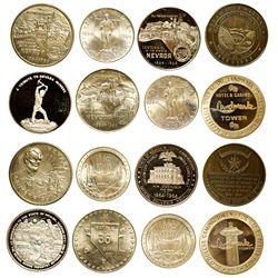 NV - 1964, 1967, 1983 - Nevada Centennial Silver Rounds