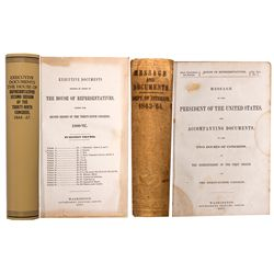 NV - 1863, 1867 - United States Executive Documents, Reservation Boundaries and Indian Affairs