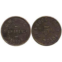 NV - Chafey,C. W. Hurd Token