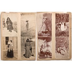NV - Ely,White Pine County - 1909, 1920 - Native Americans in Nevada Photographs