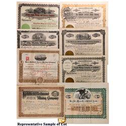 NV - Goldfield,Esmeralda County - Goldfield Stock Certificate Group