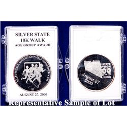 NV - Reno,Washoe County - c1998-2006 - Silver State Marathon Silver Medals Collection