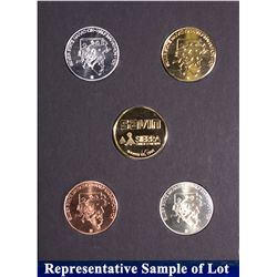 NV - Reno,Washoe County - 1995 - Silver State Medals #10 Set