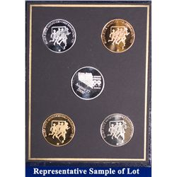 NV - Reno,Washoe County - 2000 - Silver State Medals #10 Set
