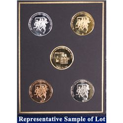 NV - Reno,Washoe County - 1999 - Silver State Medals #10 Set