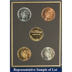NV - Reno,Washoe County - 1997 - Silver State Medals #10 Set