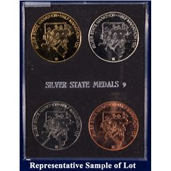 NV - Reno,Washoe County - 1993 - Silver State Medals #9 Set