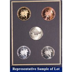 NV - Reno,Washoe County - 1998 - Silver State Medals #9 Set