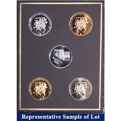 NV - Reno,Washoe County - 2000 - Silver State Medals #9 Set