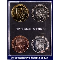 NV - Reno,Washoe County - 1994 - Silver State Medals #9 Set