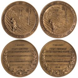 NY - 1916 - America Telephone & Telegraph Co. Medals