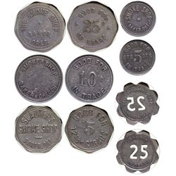 OR - Baker,c1910-1915 - Smoke Shop Tokens