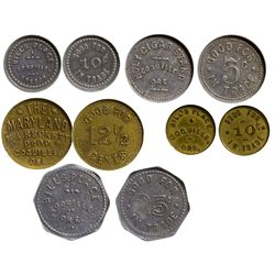 OR - Coquille,Coos County - c1915 - Coquille Tokens