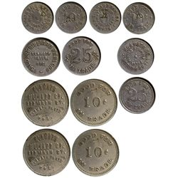 OR - Klamath Falls,Klamath Falls County - 1910-1915 - Klamath Falls Tokens