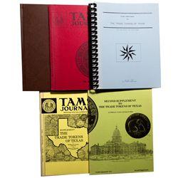 TX - 1973-1993 - Texas Token Guide Books